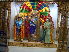 Radha Krishna Shayan Darshan on Wed 19 Oct 2016 (bhujmandir) Tags: radha krishna dev lord maharaj swaminarayan hari bhagvan bhagwan bhuj mandir temple daily darshan swami narayan shayan