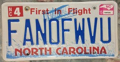 NORTH CAROLINA 2015 ---PERSONALIZED, VANITY PLATE (woody1778a) Tags: usa american licenseplate numberplate registrationplate mycollection myhobby state unitedstates northamerica north carolina vanity personalized