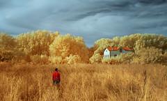 El desierto humano. / The human desert. (Oscar Martn Antn) Tags: palenciasoada melancola casa hogar infrarrojo poesa visual conceptual onrico ensoacin