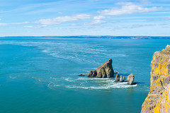 An iconic view of Cape Split (wpc302) Tags: canada ca capesplit d3300 dslr nikon novascotia nature marine ocean tides bayoffundy current