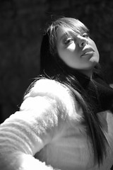 Hard light (Cisco photostream) Tags: portrait blackandwhite bw monochrome ritratto biancoenero colle raissa monocromatico nikkor85mmf14g