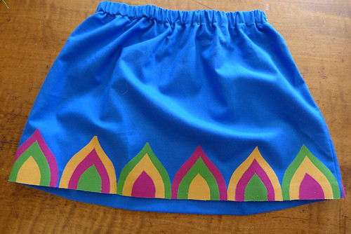 Rainbow Mountain Skirt