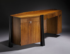 Desk by David Leach (David Leach Furniture) Tags: wood sculpture usa david art woodwork furniture newhampshire craft household artisan carpentry furnishings leach carpenter craftsmanship woodworker 101208 furnituremasters shastadesk