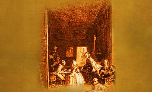 """Meninas, iconósfera de Diego Velazquez (1656), estudio de Francisco de Goya y Lucientes (1778), paráfrasis y versiones Pablo Picasso (1957). • <a style=""""font-size:0.8em;"""" href=""""http://www.flickr.com/photos/30735181@N00/8746859159/"""" target=""""_blank"""">View on Flickr</a>"""