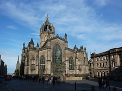 St. Giles Cathedral, or the High Kirk of Edinburgh (Beth M527) Tags: scotland edinburgh churches cathedrals unesco royalmile worldheritagesites housesofgod 2013