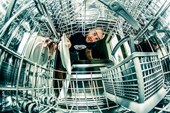 Inside the Dishwasher (Nic Taylor Photography) Tags: sony fisheye dishwasher 30faves beko samyang 50faves 10faves 20faves 40faves 60faves 70faves 8mmfisheye sonyalpha club16 samyangfisheye sonya65 sonyslta65 samyang8mmf35mcfisheye insidedishwasher