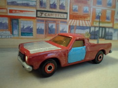 Matchbox My Name Is Earl. (HrExplorer) Tags: red cars up car truck is name earl pick matchbox holden my
