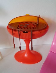 Vintage Mattel Barbie Dream Pool Collections Grill (JunqueChicDoll) Tags: pool vintage dream barbie grill collections mattel