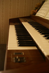 Organ (MeaganMuffins) Tags: light music brown keys soft antique piano organ musical instrument paino