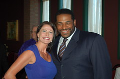 Jerome Bettis (the Bus) and MJ (Melissa Jo Horn) Tags: bus jo melissa jerome hart horn the bettis