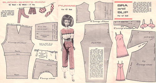vintage undies patterns :)
