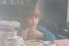 (danieladenkova) Tags: seagulls film breakfast analog doubleexposure nikonfm2 portra160