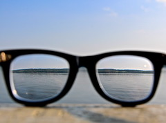 sky cloud lake abstract reflection metal clouds canon landscape rebel glasses mirror landscapes different frame canonrebel rayban raybans canonrebelt5i
