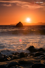Marshal Beach Sunset (universini) Tags: sanfrancisco sunset beach sfo slowshutter canon5d bakerbeach sini mandya leefilters hitechfilter universini siddegowda nidagatta