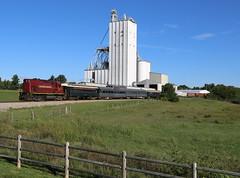 Rural Scenery (JayLev) Tags: train am elevator excursion fayetteville springdale