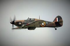 Hawker Hurricane (Dafydd RJ Phillips) Tags: hurricane hawker bbmf lf363 mk2c langley slough 63 squadron battle britain ww2 war world second jxb conninsby raf force air royal riat 2016