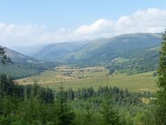 Glen Voil from Strathyre Forest (luckypenguin) Tags: scotland strathyre ramblers walk path forestrycommissionscotland stirling trossachs