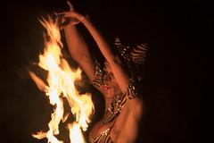 Silhouette di fuoco (eastwood_clint) Tags: unmaredifuoco rimini spiaggia 112 bagnino bagno mare fuoco figura donna woman brigadadefuego fire jupiter 200mm f4 21m silhouette