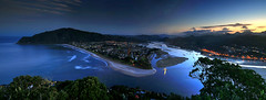 Tairua Panoramas (hapulcu) Tags: newzealand coromandel nz tairua dusk panorama sunset
