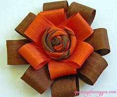 Lm n hoa hng trang tr hp qu n tng (quatangthuongyeu) Tags: lm qu handmade gift
