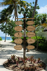 Island sign (survivingmaldives) Tags: jumeirah vittaveli maldives surviving