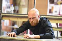 Harry Attwell plays Stryver/ Derfage/ Frenchman 3 (TheatreCloud) Tags: a tale two cities charles dickens twocitiestour uk theatre tour 2018 play adaptation rehearsals rehearsal shots first look james dacre