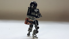 Zone Suit (BadHandle) Tags: lego mech scifi cyberpunk hardsuit drone