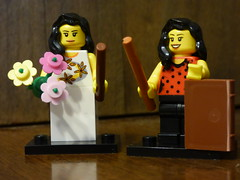 Brick Yourself Figure - Cute Couple