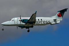 C-GHGA (Air Georgian) (Steelhead 2010) Tags: aircanada aircanadaexpress airgeorgian beechcraft b1900 b1900d yyz creg cghga