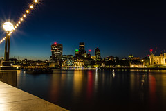 London Long Exposure Cityscape (Davestarling) Tags: canon1740mmf4l canon6d uk london