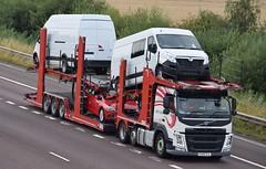 Brit European (KY65OJL) (KS Transport Photography.) Tags: briteuropean m18 rawcliffebridge rawcliffe goole volvo vauxhall ky65ojl