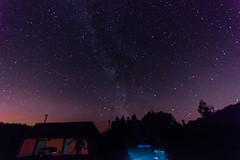Voie Lacte (Burma7) Tags: ciel nuit etoile voie lacte pose longue bleu orange lightpainting