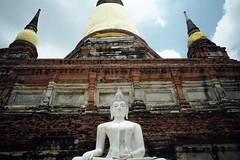 Ayyuthaya (hopeflowpj) Tags: bangkok ayyuthaya pj juplo livefolk temples thailand travel elephant vsco wat yai chai mongkhon explore