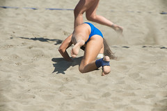 Big West Volleyfest 2016 (tintinetmilou) Tags: gordgallagher big west volleyfest vancouver beach volleyball bleu blue woman femme summer ete hot chaud
