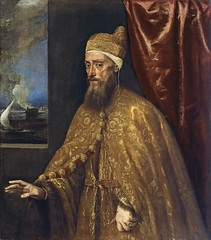 Portrait of Doge Francesco Venier (lluisribesmateu1969) Tags: portrait 16thcentury museothyssenbornemisza madrid