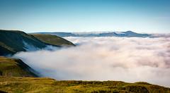 Inversion (cliveg004) Tags: blackmountains wales southwales breconbeacons mist inversion cloud sky mountains nikon d5200 1685mm rural moorland moors temperatureinversion