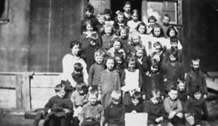 Imperial Oil's Imperoyal Refinery, Dartmouth, temporary school 1919 Miss Lowndes (vboudreau2016) Tags: miss v e lowndes 1919 1920 dartmouth oil refinery school