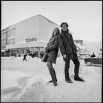 PEM-STO-00026 Modeller poserer utenfor Tempogården i Tromsø thumbnail