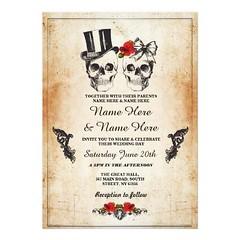 (Skull Wedding Halloween Sugar Gothic Floral Invite) #Beige, #Board, #Bridal, #Bride, #Celebrate, #Champagne, #Cocktail, #Cocktails, #Cream, #Date, #DayTheDead, #Dead, #Engagement, #Floral, #French, #Glam, #Glasses, #Gothic, #Halloween, #Hen, #Lace, #Ligh (CustomWeddingInvitations) Tags: skull wedding halloween sugar gothic floral invite beige board bridal bride celebrate champagne cocktail cocktails cream date daythedead dead engagement french glam glasses hen lace lights lingerie paper party roses save shower skullwedding skulls spirits vintage white wood is available custom unique invitations store httpcustomweddinginvitationsringscakegownsanniversaryreceptionflowersgiftdressesshoesclothingaccessoriesinvitationsbinauralbeatsbrainwaveentrainmentcomskullweddinghalloweensugargothicfloralinvite weddinginvitation weddinginvitations