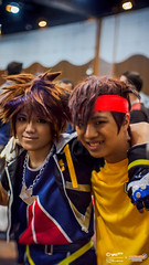 AniManGaki 2016 Day 2 Hangout: 017 (FAT8893) Tags: amg2016 animangaki animangaki2016 cosplay malaysia inazuma eleven mamoru endou mark evans kingdom hearts sora