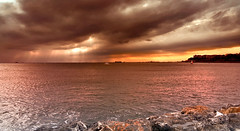 İstanbul'da günbatımı (Akustiksamuray) Tags: istanbul fenerbahçe kalamış türkiye turkey sunset günbatımı sky sea boat trip landscape