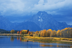 Mount Moran (Bonnie Bowne) Tags: grandteton tetons wyoming landscape fall
