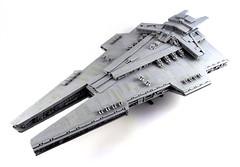 Harrower-class Dreadnought (Swan Dutchman) Tags: lego starwars harrowerclassdreadnought harrower stardestroyer knightsoftheoldrepublic swtor empire imperial sith