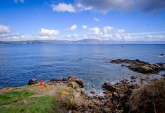Paisaje de Fisterra (MigueR) Tags: espaa galicia lacorua finisterre fisterra mar costa paisaje cielo nubes landscape sea fuji xt1