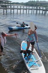 Gabby - paddlin' (crisp4dogs) Tags: gabby pwd portuguesewaterdog crisp4dogs puppy intercoastal waterway paddleboard lizzy