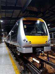 168328 (R~P~M) Tags: train railway diesel chilternrailways dbarriva england uk unitedkingdom greatbritain 168 multipleunit aylesbury bucks buckinghamshire depot