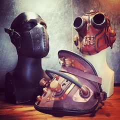 European customers know exactly what they want. #Cyberpunk #CyberGoth #postapocalyptic #postapocalypse #steampunk #steampunkmask #leathermask #handmade #LARP #dieselpunk #leather #Darkart #costume #larping #pauldron #haloween #armour (tovlade) Tags: face mask cyberpunk cyber goth make up goggles girl punk postapocalyptic postapocalypse black steampunk leather hand made larp cybergoth dieselpunk plague doctor