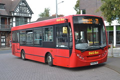 D&G Bus 40 YX09FMG (Will Swain) Tags: nantwich bus station 23rd september 2016 cheshire north west south county buses transport travel uk britain vehicle vehicles country england english crewe dg 40 yx09fmg former first london 44406