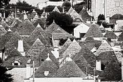 Trulli (albireo 2006) Tags: trulli alberobello puglia italy blackwhitephotos blackandwhite blackandwhitephotos blackwhite bw bn