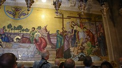 Mosaic, Church of the Holy Sepulchre, Old City of Jerusalem (video) (R-Gasman) Tags: travel mosaic churchoftheholysepulchre oldcityofjerusalem israel video